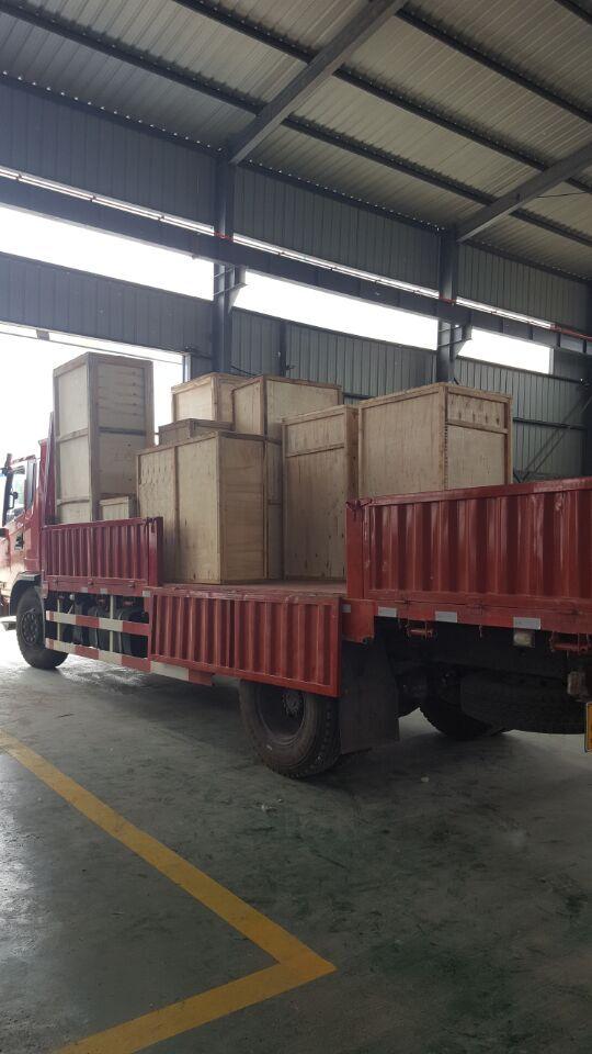 我厂多台试验机发往江西、河南、上海、天津等地