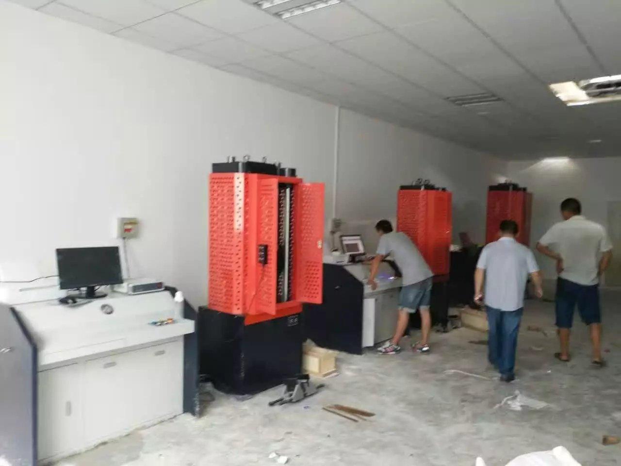 我公司发往荆门检测站多台设备均顺利通过验收
