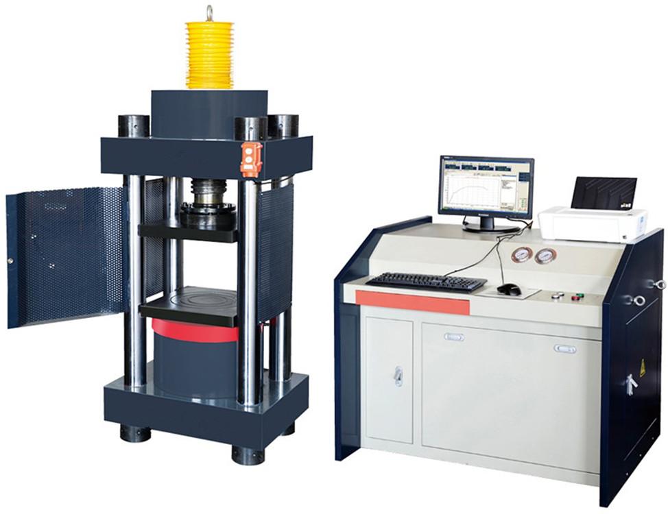 我公司生产的200吨全自动压力试验机主要技术参数